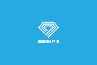 Thumbnail for Diamond Path Logo Template