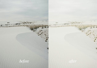 Thumbnail for Bright and airy Lightroom Mobile Preset