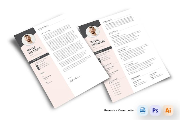 Resume CV - product preview 3