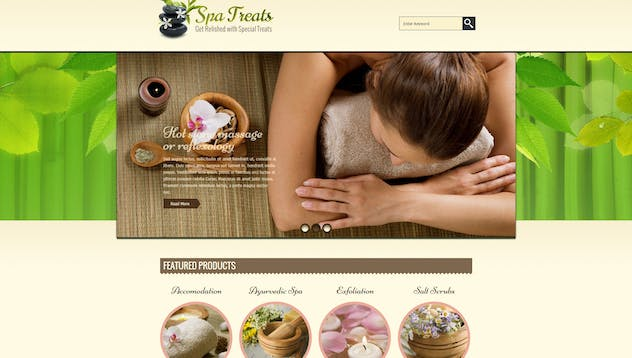 Spa Treats  - Yoga and salon Shopify Theme - product preview 3