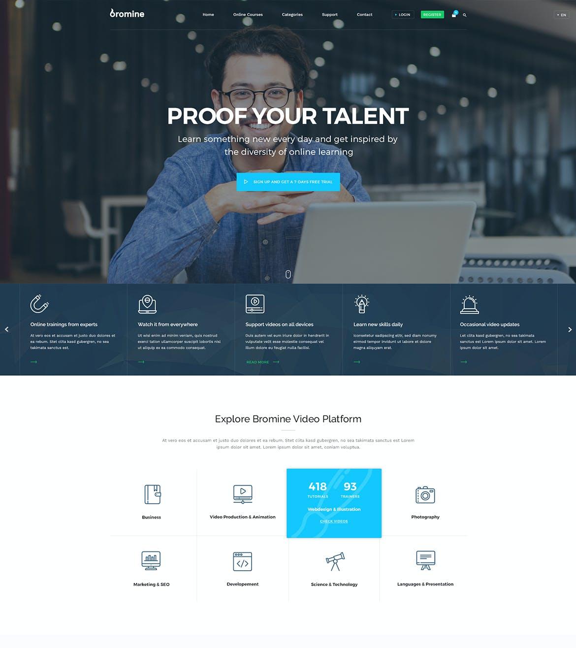 Download Landing Page Templates - Envato Elements