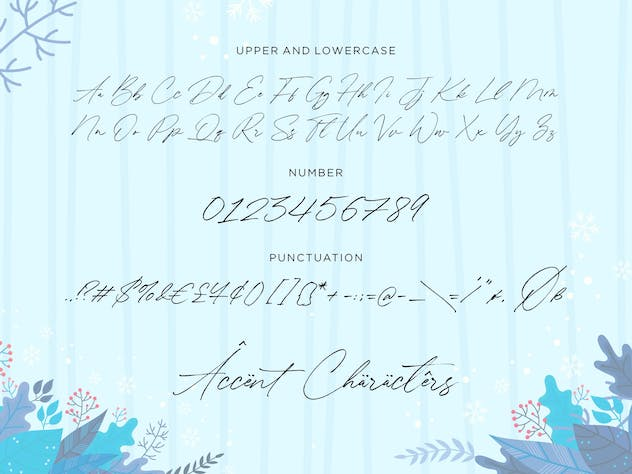 Winterlady YH - Luxury Script Font - product preview 1