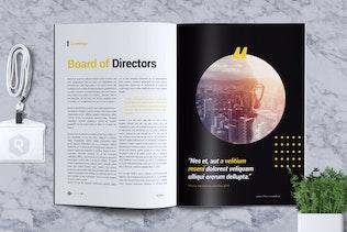 Thumbnail for HARDWORK - Company Profile Brochure
