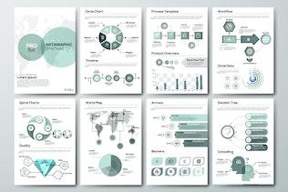Thumbnail für Infografik-Broschüren Pro Flat