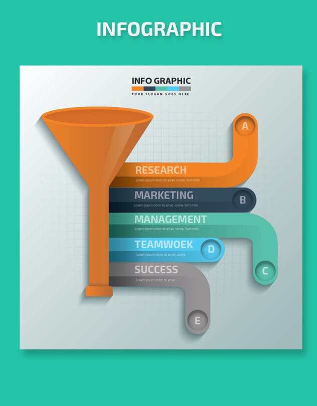 Funnel Infographics-Design - product preview 3
