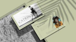 Миниатюра для CATRINA - Шаблон Keynote