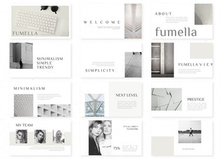 Thumbnail for Fumella - Powerpoint Template