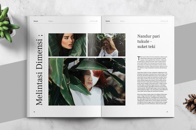 MATAMU - Clean and Minimalist Magazine Template - product preview 9