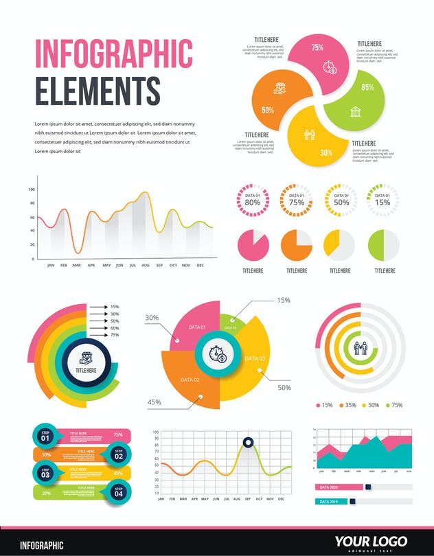 Infographic Examples for Designer V.53 - product preview 0