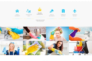 Thumbnail for Max Cleaners & Movers - PSD Template