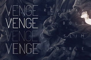 Thumbnail for Venge Typeface