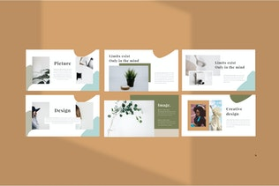 Thumbnail for SWEETER. - Minimal Creative Google Slide