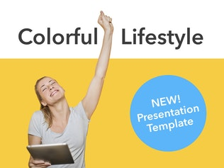 Thumbnail for Add Color PowerPoint Template