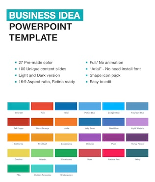 Thumbnail for Business Idea PowerPoint template