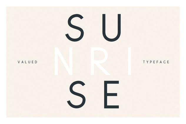 Valued - A Deluxu Sans Serif Family - product preview 5