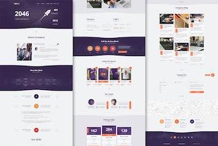 Thumbnail for Rocket - Creative Multipurpose HTML Template