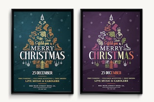 Thumbnail for Christmas Flyer Template Vol.5
