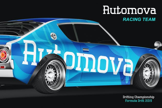 Automova - Sport Font - product preview 4