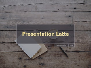 Thumbnail for Latte PowerPoint Template