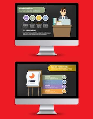 Thumbnail for Businessman Powerpoint Presentation