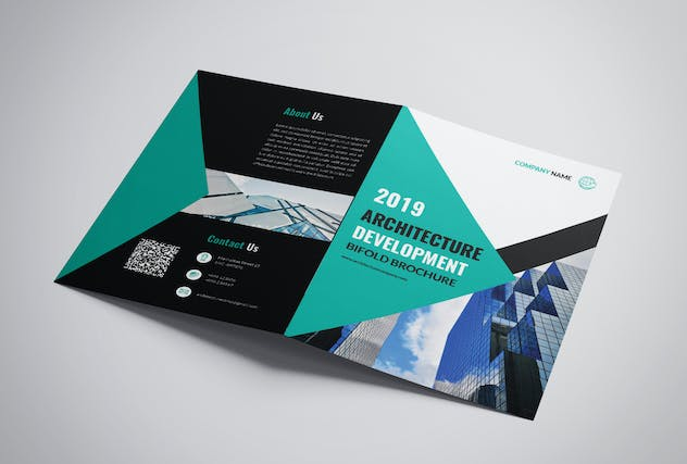 Architecture Bifold Brochure - product preview 3