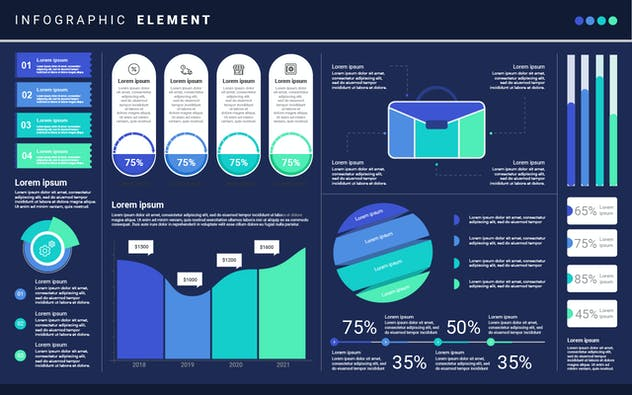 Infographic Examples for Designer V.17 - product preview 1