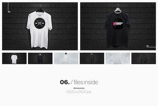 Thumbnail for T-Shirt Sweatshirt Hoodie Mockup Set