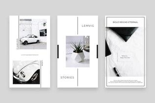 Thumbnail for Lemvig Instagram Post & Stories