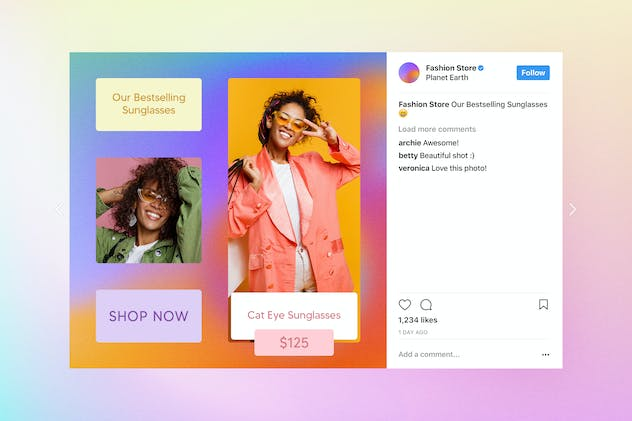 Fashion Instagram Posts - product preview 6