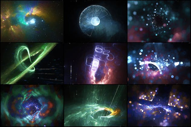 40 Space Painting Backgrounds - Vol. 3 - product preview 2