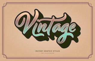Миниатюра для Ретро старинные графические стили