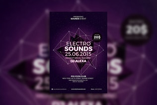 Thumbnail for Electro Sounds Flyer