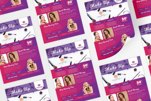 Make up / Skin care Flyer - product preview 0