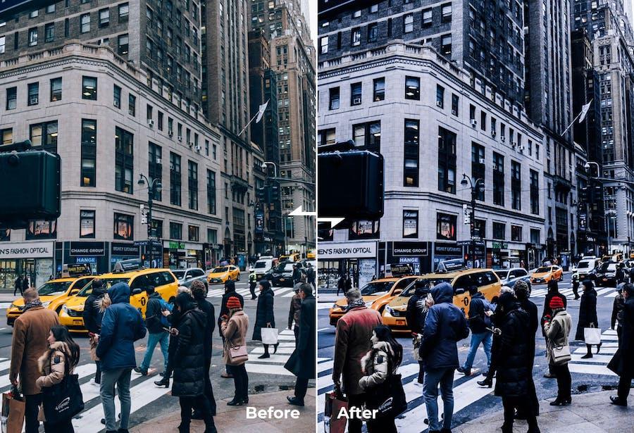 Lightroom Preset & Actions - Urban Street Style