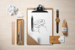Thumbnail für Branding Mockup Essentials Vol. 4