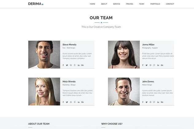 Derima - Multi-Purpose Muse Template - product preview 0