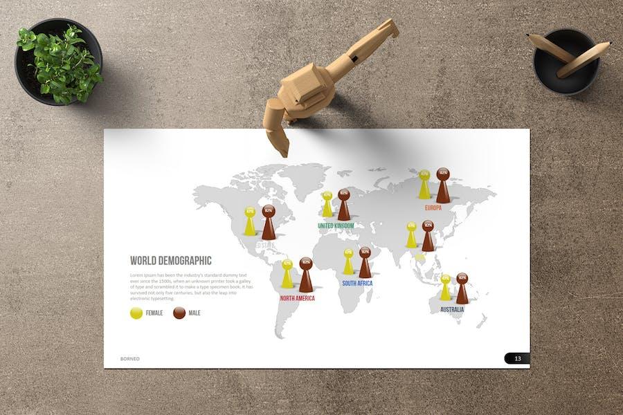 Borneo Google Slides - product preview 3