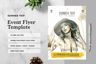 Thumbnail for Summer Trip Flyer
