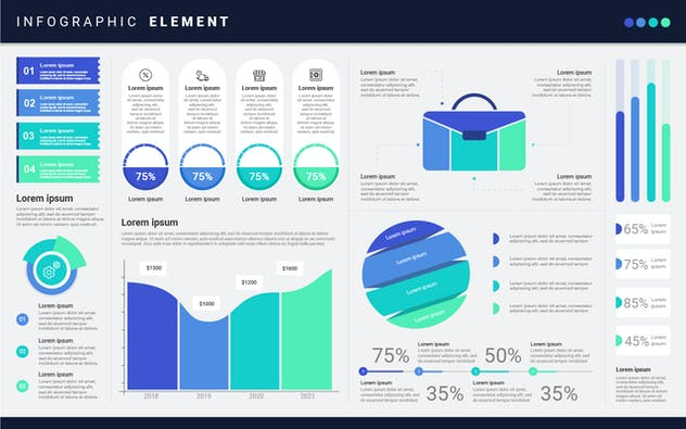 Infographic Examples for Designer V.17 - product preview 0