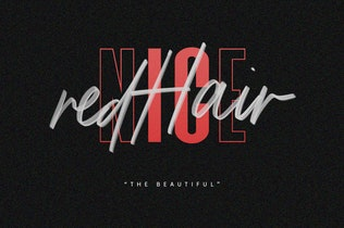 Thumbnail for Triester SVG Brush Font Free Sans