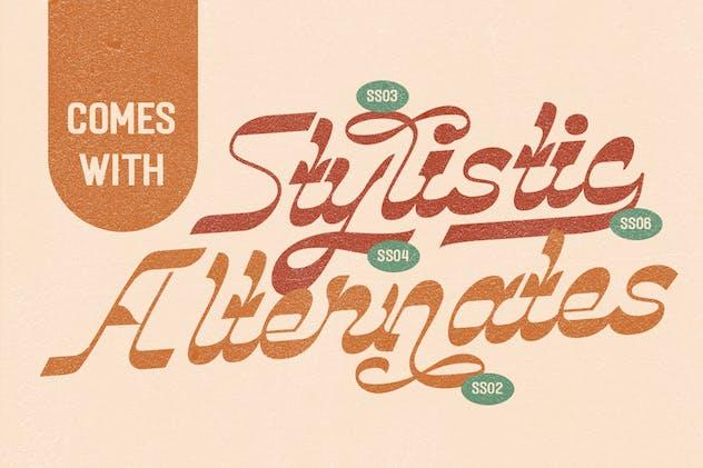 Vindale - Vintage Script Typeface - product preview 5