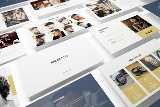 Thumbnail for Mr Barber -  Barbershop Powerpoint Template