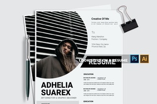 Thumbnail for Look style   CV & Resume