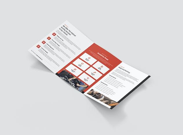 Brochure – Mechanic Tri-Fold A5