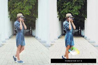 Thumbnail for 50 Denim Fashion Lightroom Presets and LUTs