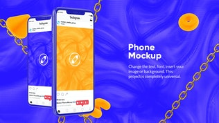 Thumbnail for 10 Colorful Phone Mockups