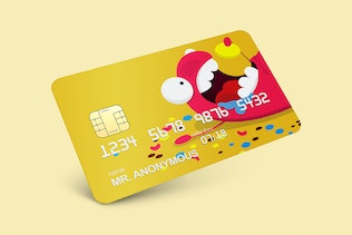 Thumbnail for Credit & Debit Card Mockup