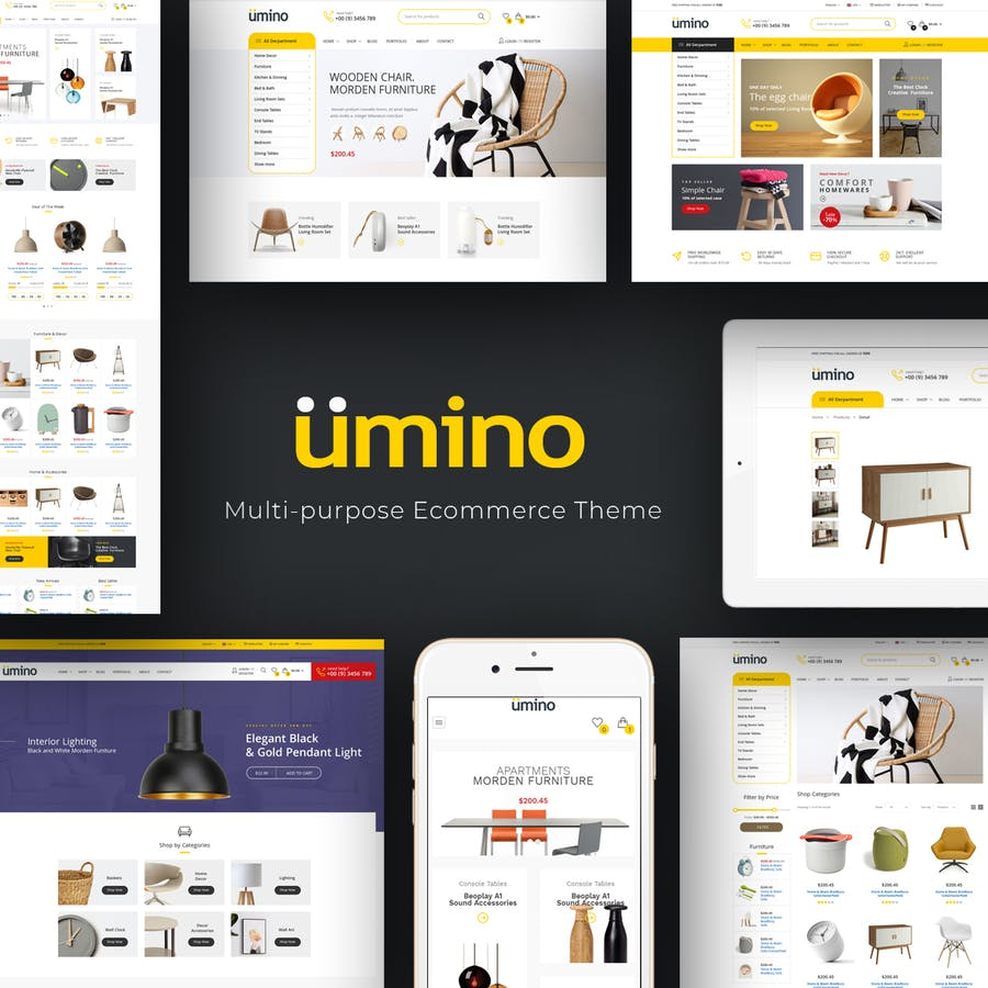 Umino - Electronic OpenCart Theme - product preview 1