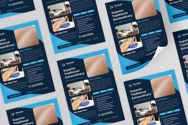 Accupunture Flyer Design