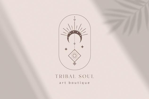 Premade Tribal Soul Designs for Blog. Feminine. - product preview 3